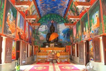 Inside the Temple of the Main 'Barge' of Wat Ban Na Muang, Ubon
