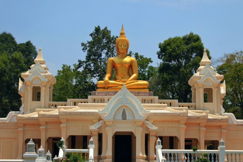 Big Buddha on Wat Ban Na Muang, Ubon