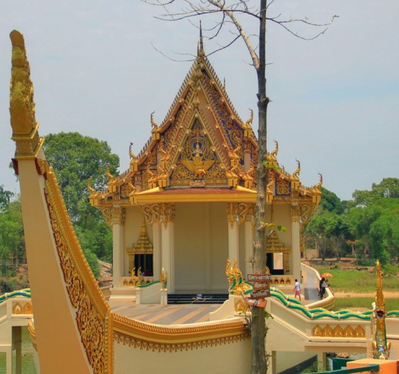A Shrine in Wat Ban Na Muang