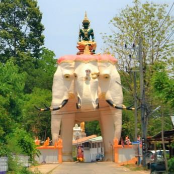 Gate of Wat Ban Na Muang