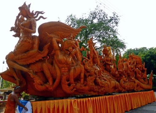 Sculpture in Wat Phra That Nong Bua