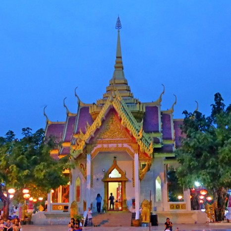 The Shrine of City Pillars of Ubon Ratchathani