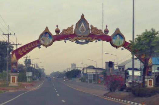 Leaving Phibun Mangsahan
