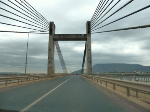 Lao - Nippon Bridge over Mekong River, Pakse