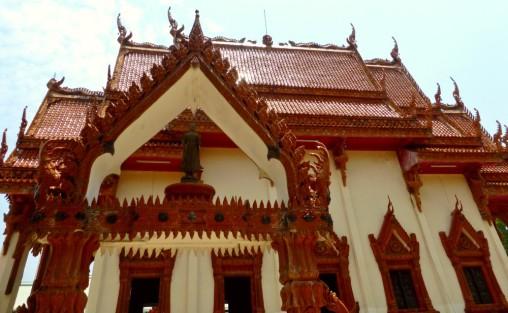 The Temple in 'Barge' of Wat Ban Na Muang, Ubon Ratchathani
