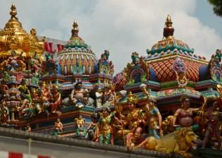 West side of Sri Veeramakaliamman Temple