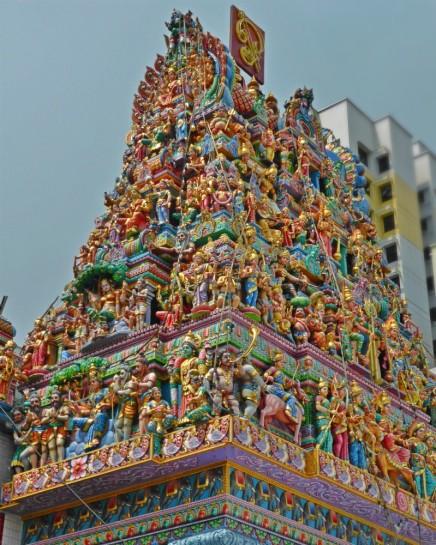 Gopuram of Sri Veeramakaliamman Temple