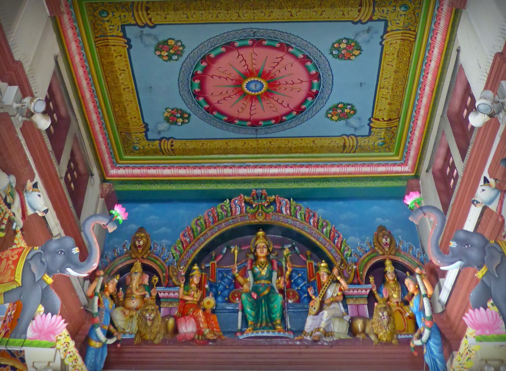 Entrance of Sri Mariamman Temple