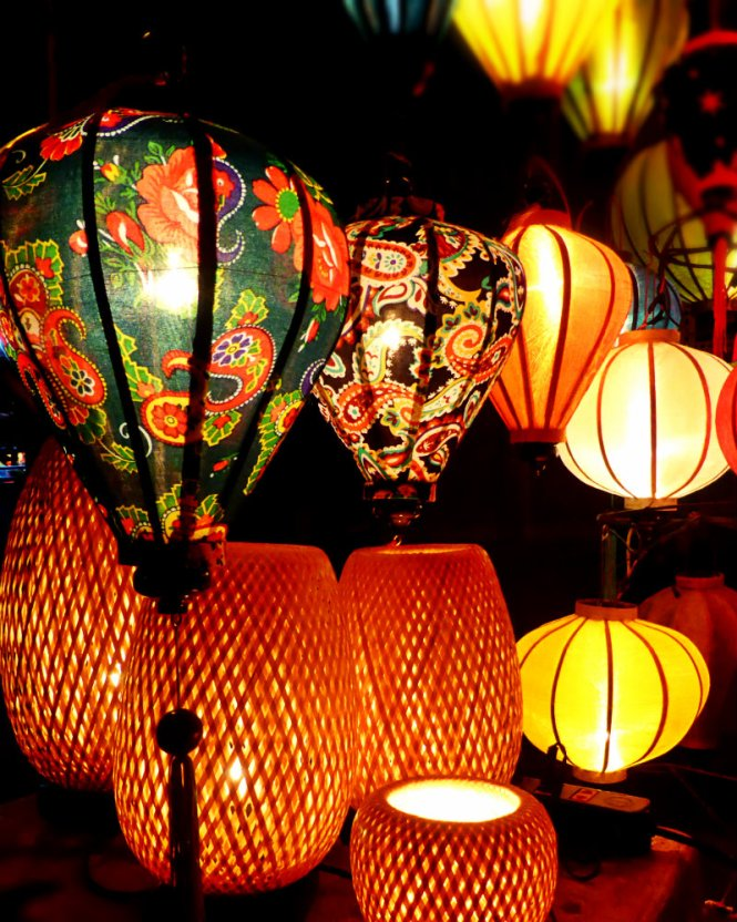 Lamps in Hoi An