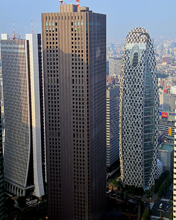 View From TMG with Mode Cocoon Tower on the right