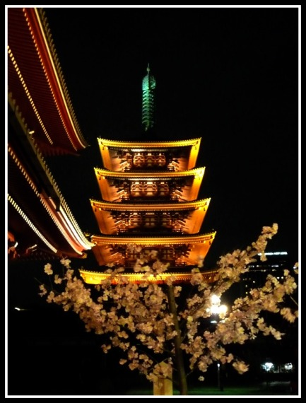 The Pagoda of Sensoji