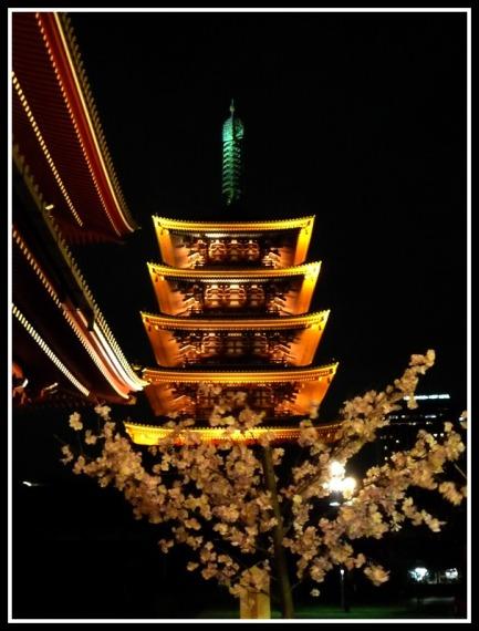 The Pagoda of Sensoji