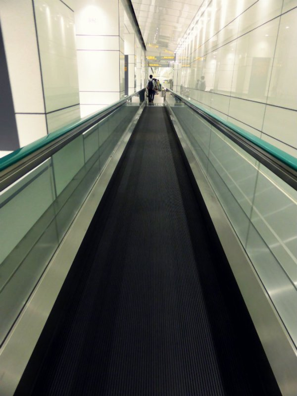 Travelator to TMG Building