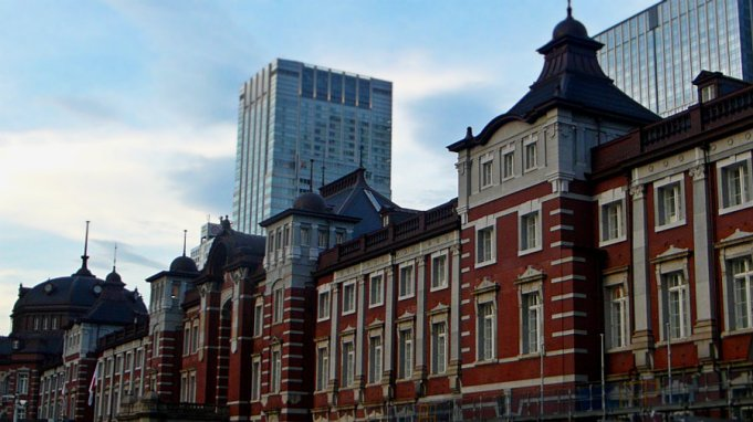Tokyo Station in the afternoon