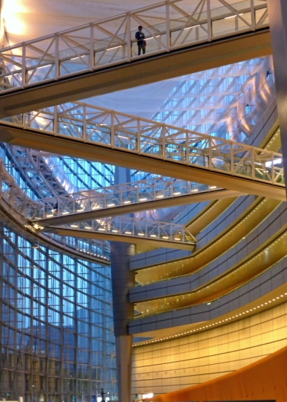 Tokyo International Forum from Ground Floor