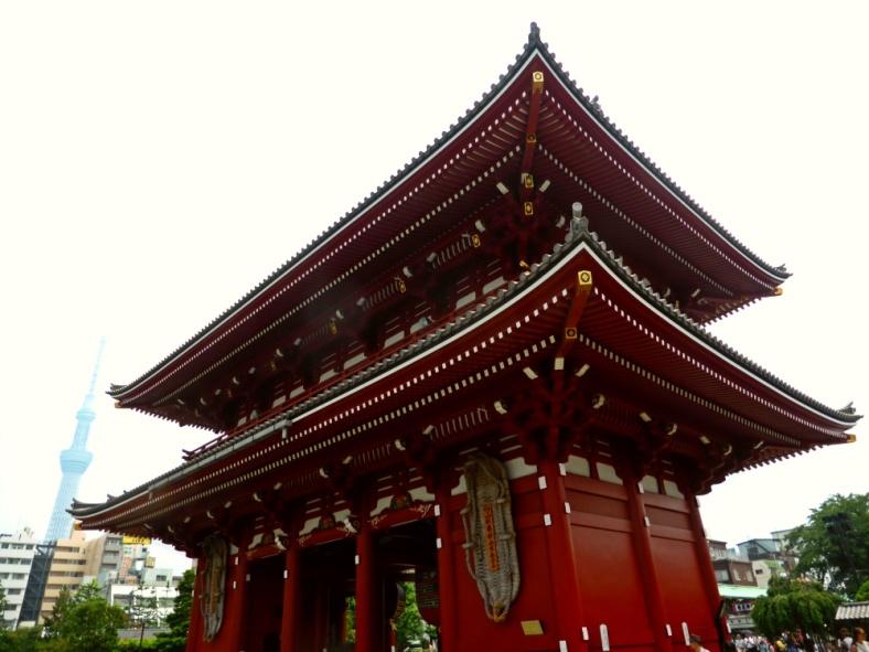 A building in Sensoji Temple, Tokyo