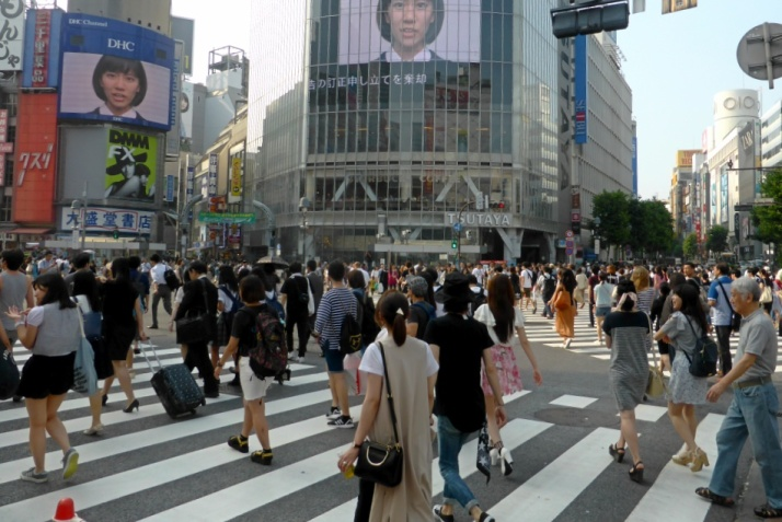 Shibuya - the busiest crosswalk in the world