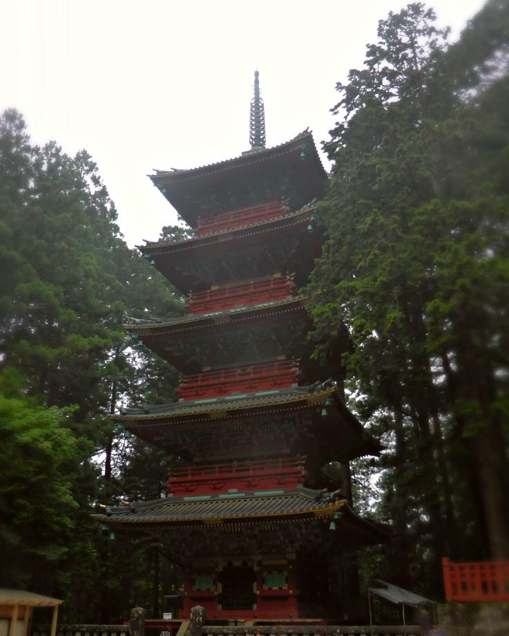 Pagoda in Nikko