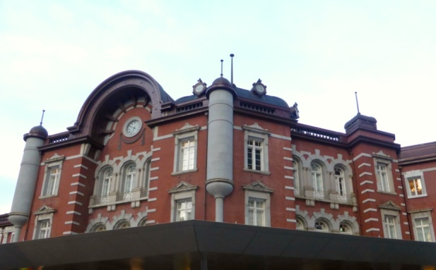 The Red Bricks of Tokyo Station