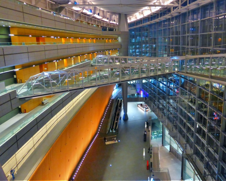 Inside Tokyo International Forum