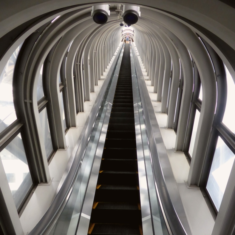 The Escalator at Umeda Sky Building, Osaka