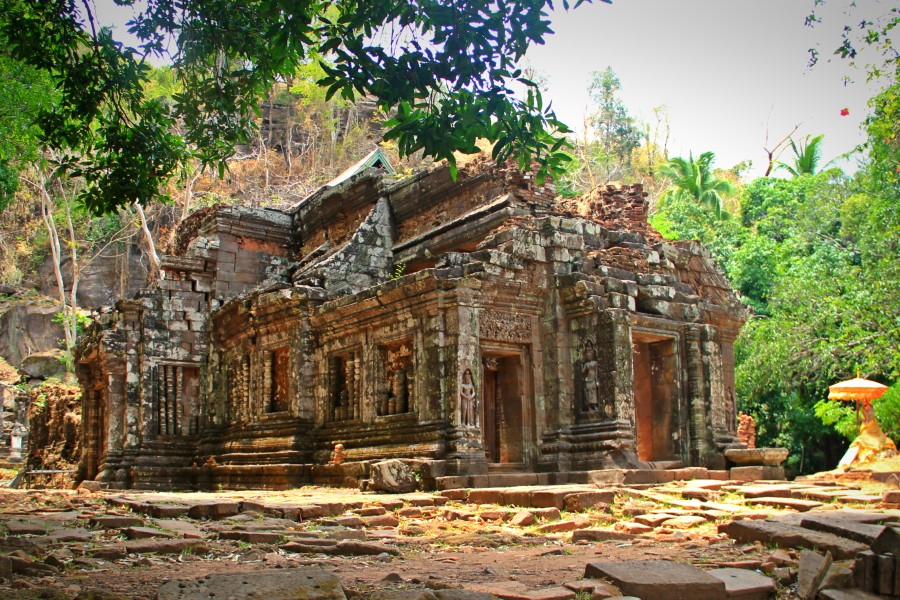 Wat Phou - Central Sanctuary, Champasak, Laos