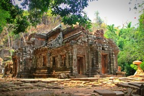 Wat Phou - Central Sanctuary, Champasak, Laos