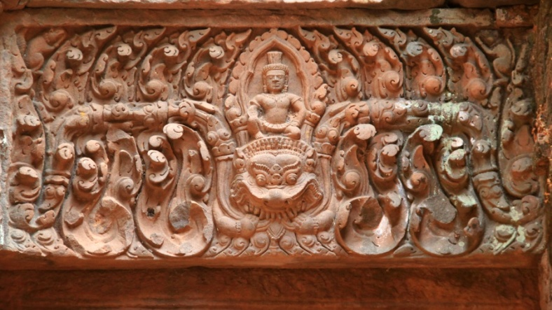 Vishvakarma on Kala, Wat Phou