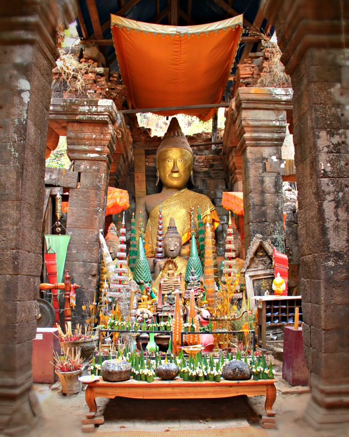 Inside the Sanctuary of Wat Phou