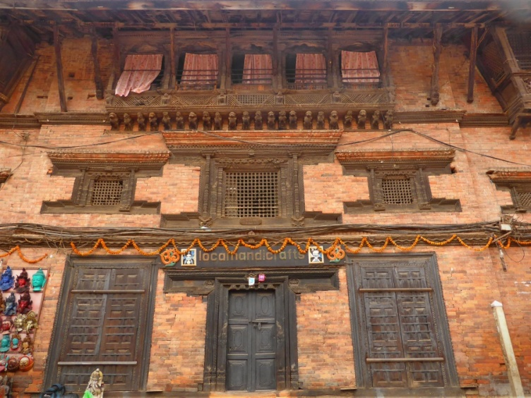 Facade of Traditional Newari Style