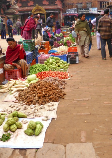 Market in Taumadhi Square