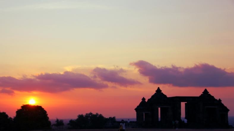 Sunset at Ratu Boko, Jogja