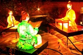 Lantern Festival On Cheonggye-Cheon Stream
