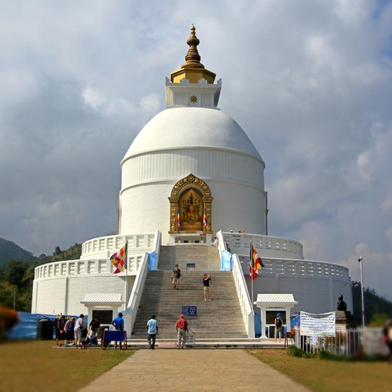 Shanti Stupa - World Peace Pagoda, Pokhara