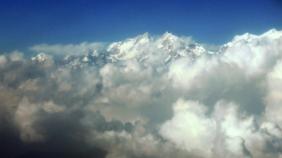 Himalaya  with Clouds
