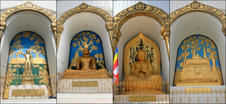 Buddha Images at Shanti Stupa, Pokhara