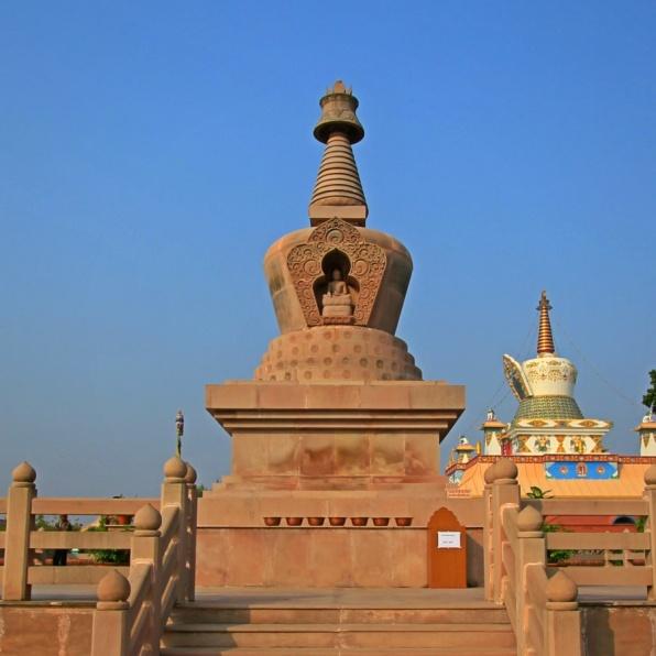 A Stupa in Monastic Zone, Lumbini