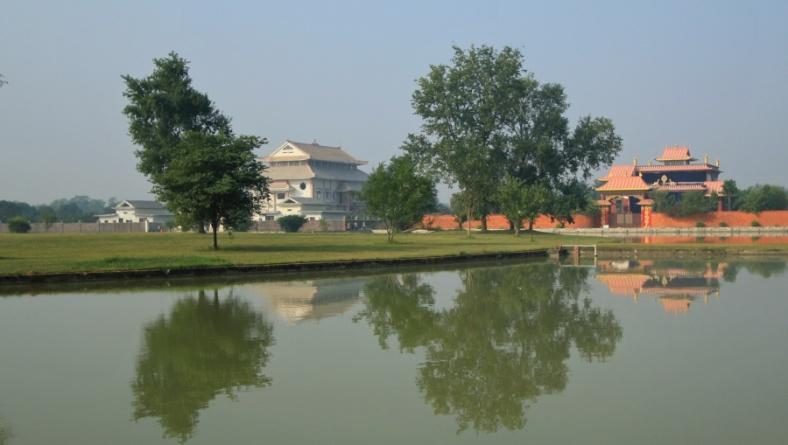 Monasteries near the ponc