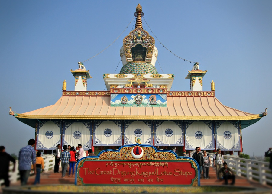 The Great Drigung Kagyud Lotus Stupa