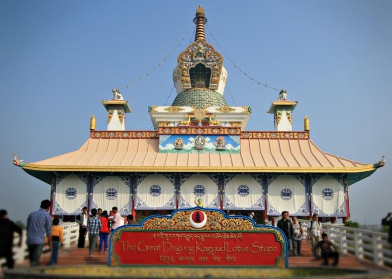 The Great Drigung Kagyud Lotus Stupa