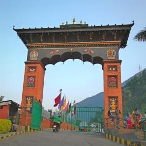 Gate of Manakamana Cablecar St. Kurintar