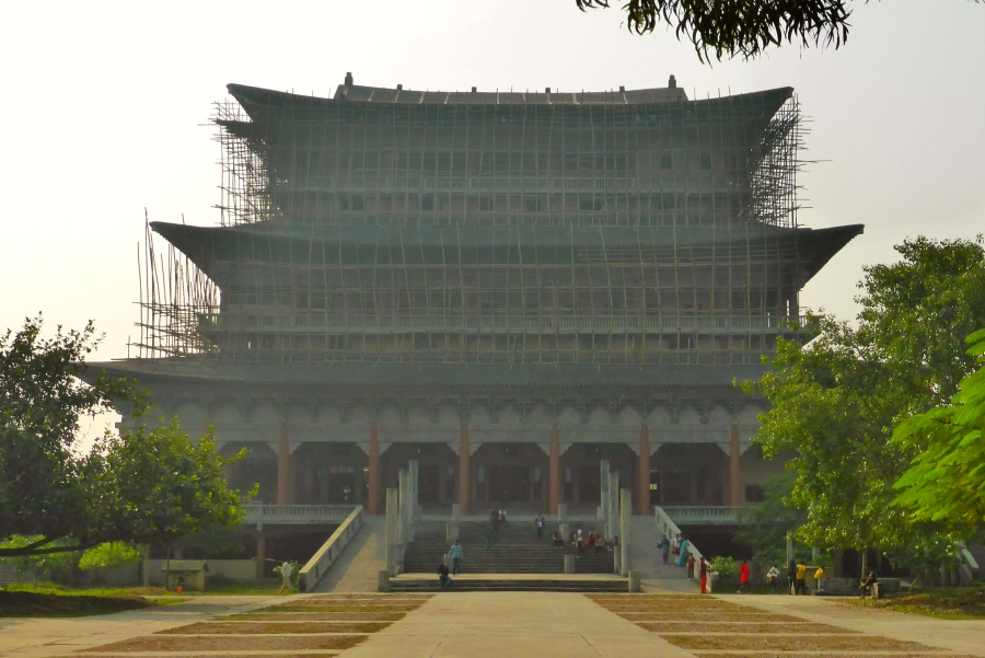 Korean Monastery, Lumbini - under renovation