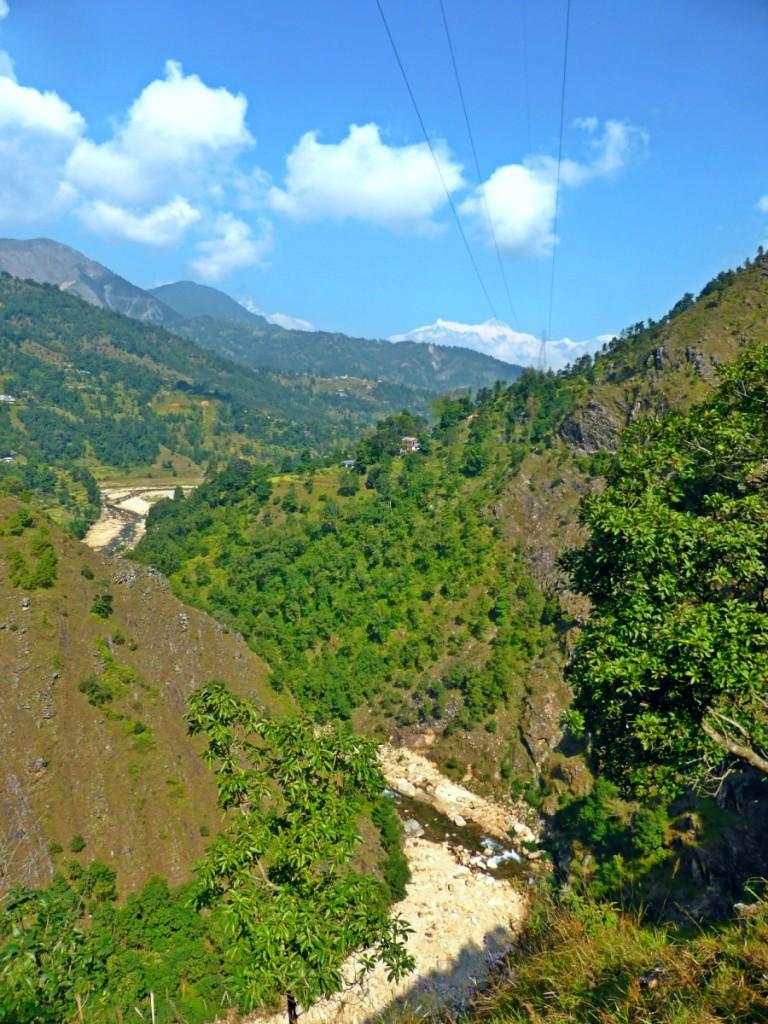 1 hour drive from Pokhara, Bye Annapurna