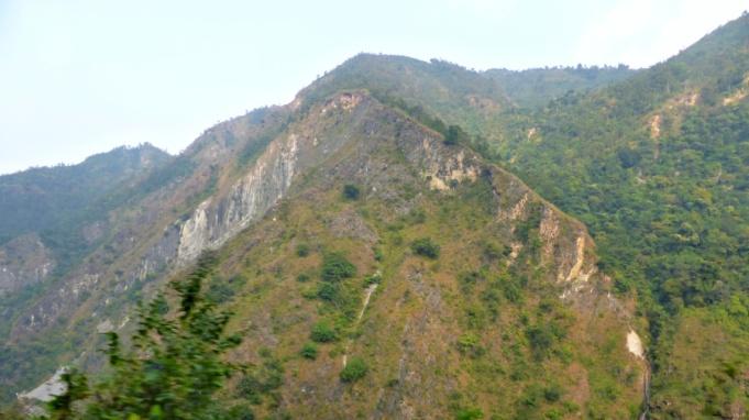 Looks like a big landslides