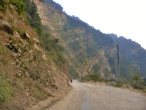 The dangerous part, after Tansen - Palpa