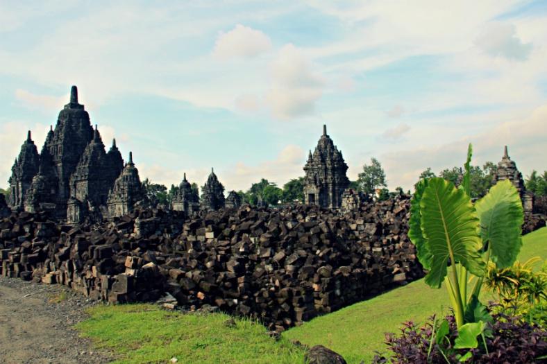 Stones in Chaos, Sewu Temple, Jogjakarta, Indonesia
