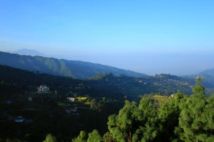 The other view from Club Himalaya Resort, Nagarkot