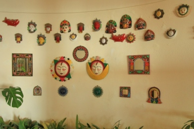 Wall Decor at Club Himalaya Resort, Nagarkot