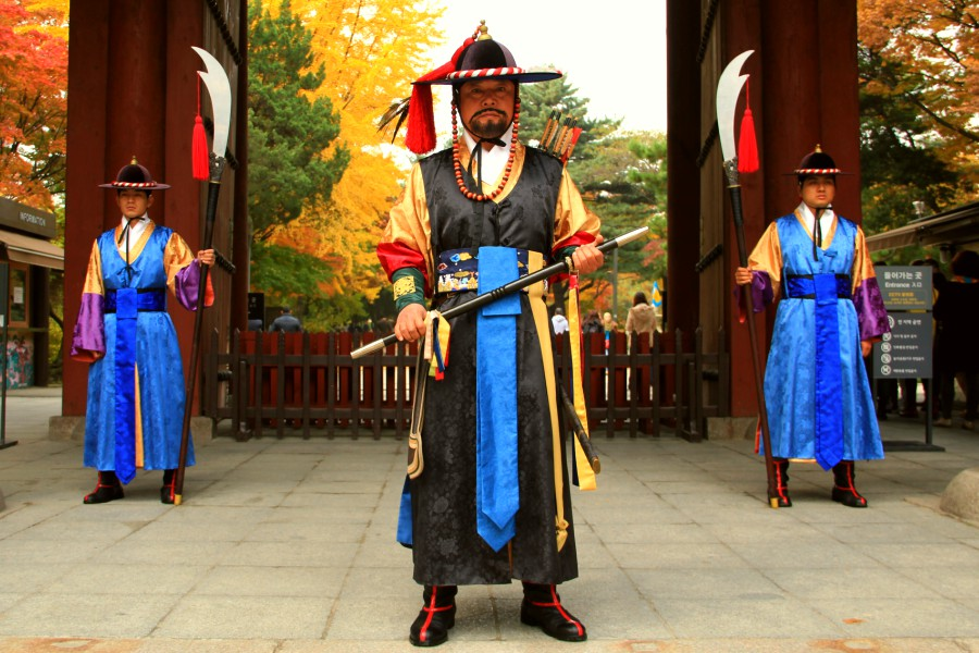 Leader on the Changing of the Royal Guards Ceremony
