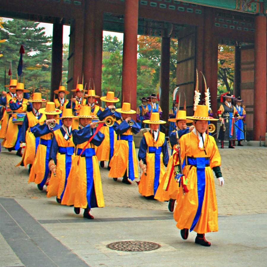 The Changing of Royal Guards Ceremony